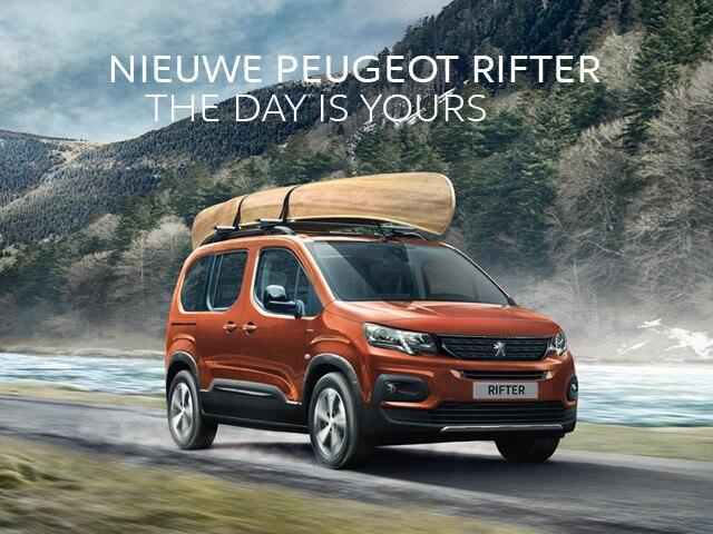 Nieuwe Peugeot Rifter