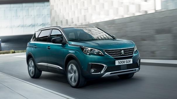 Peugeot 5008 SUV Blue Lease