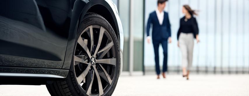 Zakelijke rijders Peugeot