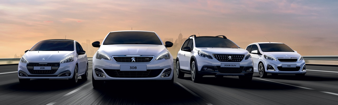 Peugeot - ontdek alle modellen personenauto's