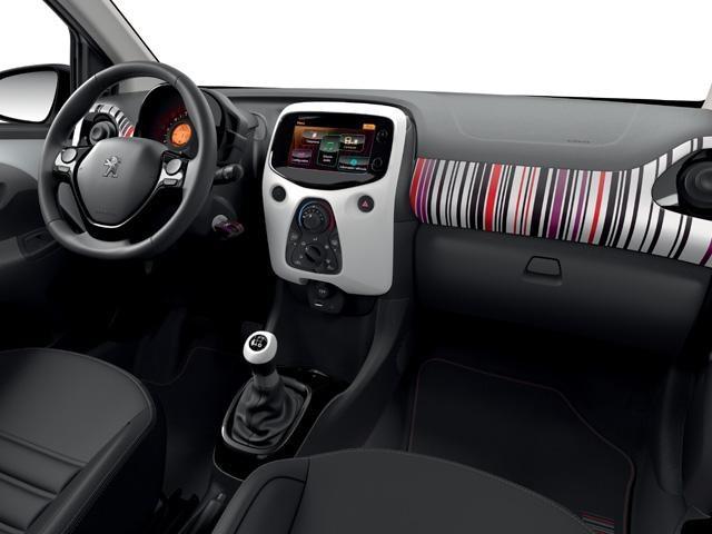 Peugeot 108 - Personalisatie Barcode
