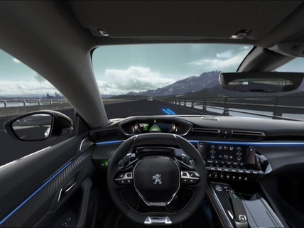 Peugeot  - Virtual Reality -  Drive Assist Plus