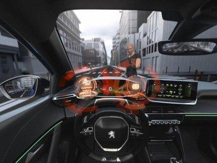 Nieuwe Peugeot 208 - Virtual Reality - Active Safety Brake