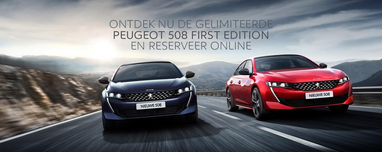 Nieuwe Peugeot 508 First Edition - Ontdek de Grande Berline van Peugeot