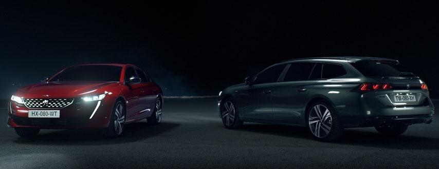 Peugeot 508 en SW- Tijdelijk extra zakelijk voordeel