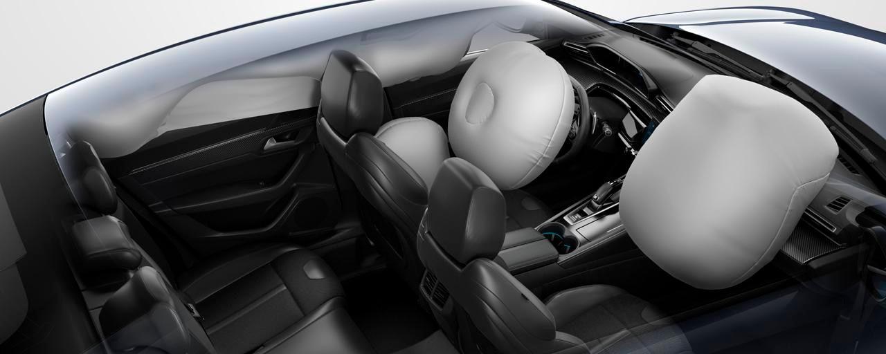 Nieuwe PEUGEOT 508 Berline, airbags