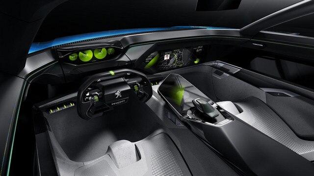 Peugeot Instinct Concept  - PEUGEOT Responsive i-Cockpit