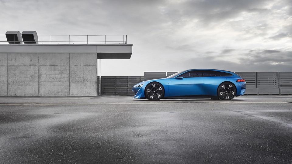 Peugeot Instinct Concept  - Actieve aerodynamische elementen