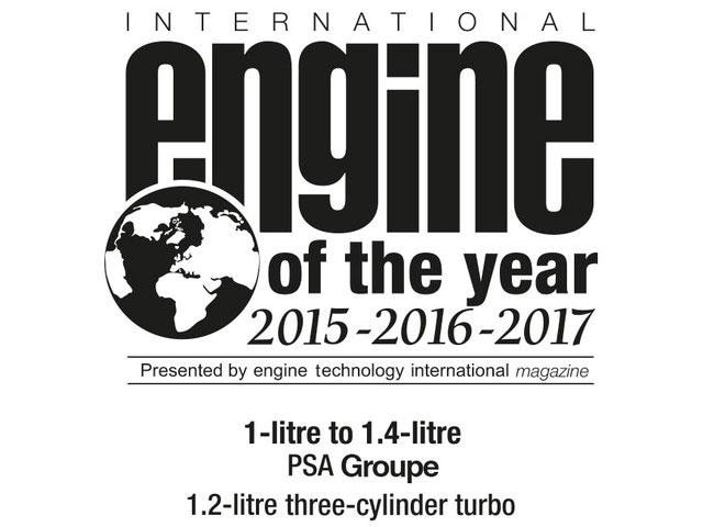 Engine of the year 2016 2016 2017