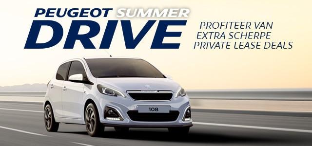 Peugeot SummerDrive - Peugeot 108 Private Lease Deal