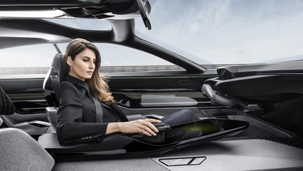 Peugeot Instinct Concept  - Responsive i-Cockpit