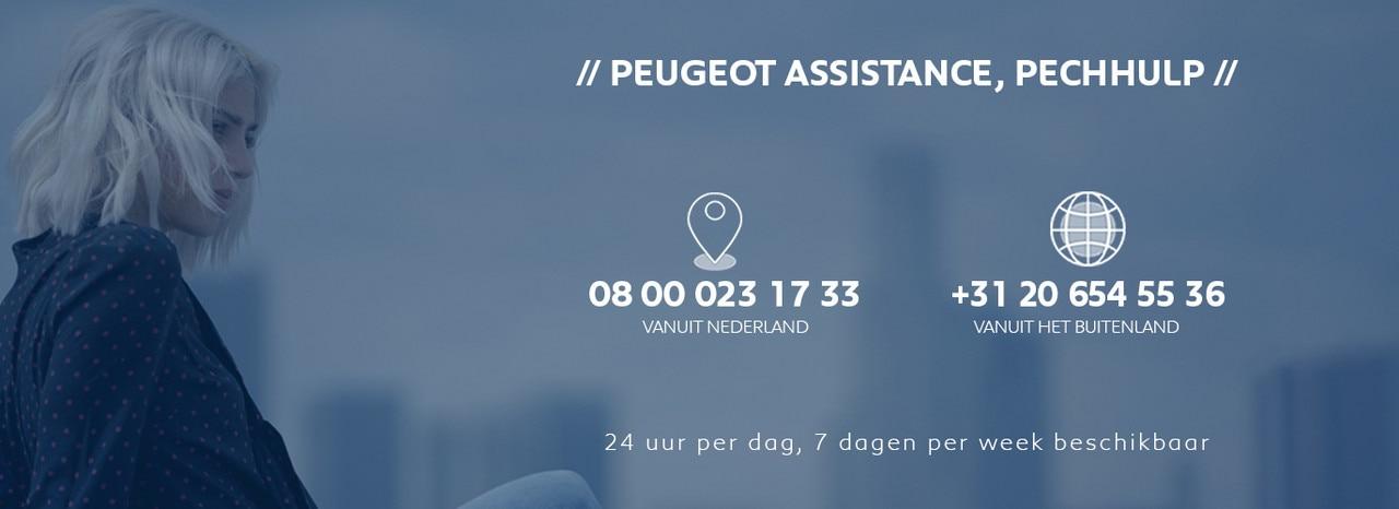 Peugeot Assistance Pechhulp - 24/7 snel ter plaatse, in heel Europa