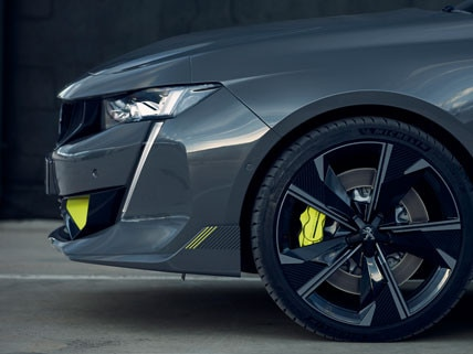 Nieuwe Peugeot 508 Sport Engineered concept car