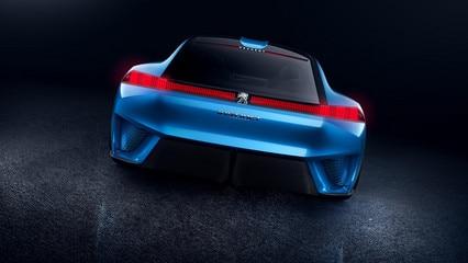 Peugeot Instinct Concept  - Exterieur achterzijde