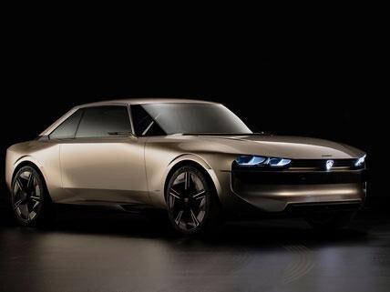 PEUGEOT e-LEGEND - Concept car - Vooraanzicht
