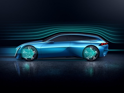 Peugeot Instinct Concept  - Aerodynamica