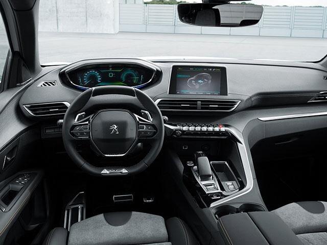 Peugeot 3008 SUV HYBRID interieur