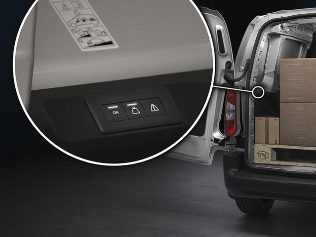 Nieuwe Peugeot Partner - Overload indicator