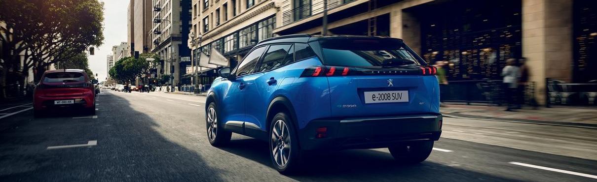 Elektrisch rijden bij Peugeot - nieuwe Peugeot e-2008 SUV