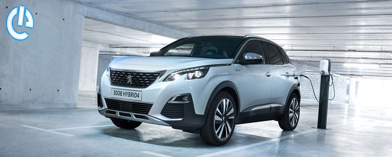 Peugeot 3008 SUV HYBRID & HYBRID4 - Sports Utility Vehicle