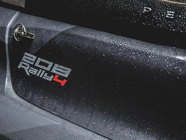 Nieuwe Peugeot 208 RALLY 4