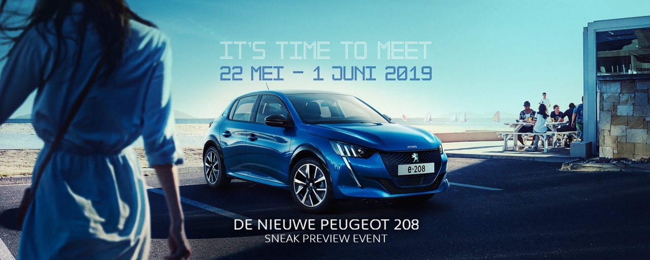 De nieuwe Peugeot 208 - It's time to meet