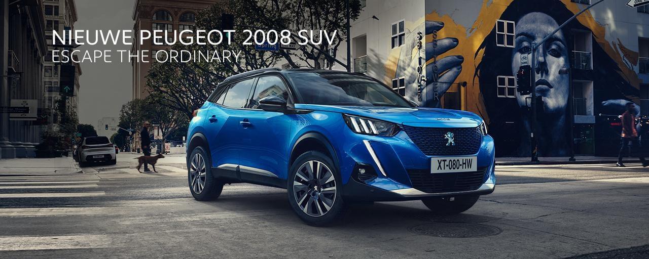 Nieuwe Peugeot 2008 SUV: een krachtige, dynamische en efficiënte compacte SUV
