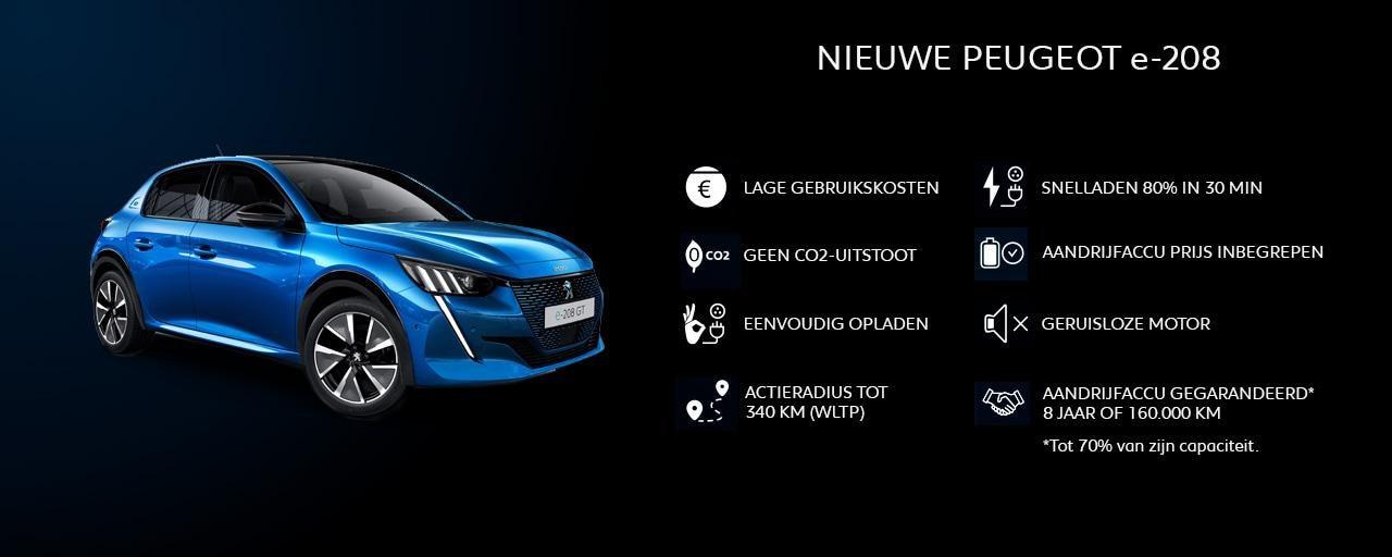 Nieuwe Peugeot 208 - Voordelen