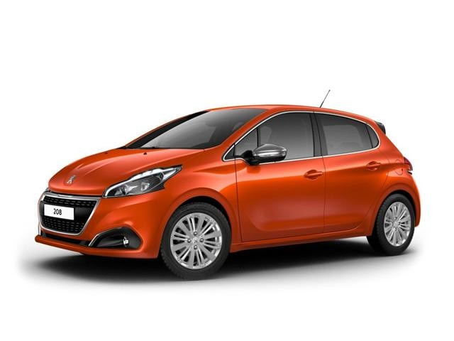 Peugeot 208 Blue Lease Executive