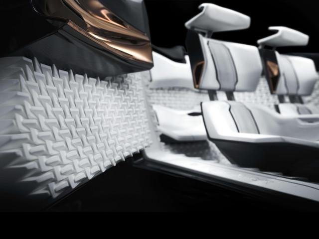 Peugeot Fractal - 3D printing en design