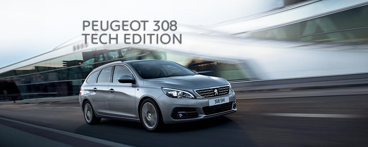 Peugeot 308 Tech Edition - Optimaal profiteren van rijke uitrusting en sportieve uitstraling