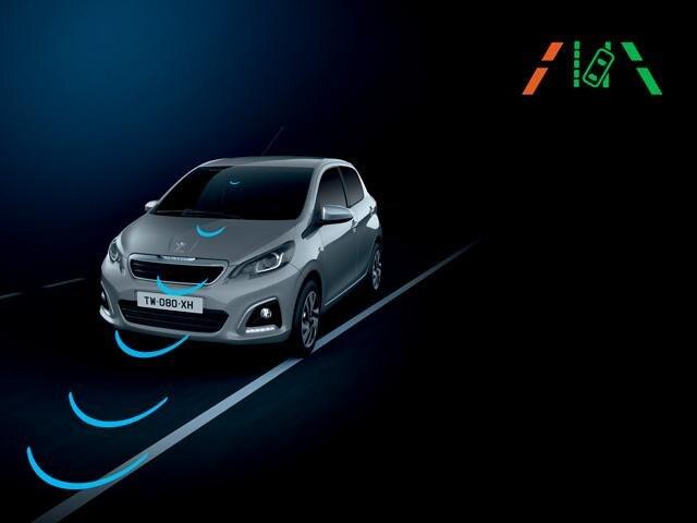 Peugeot 108 - Lane Departure Warning System