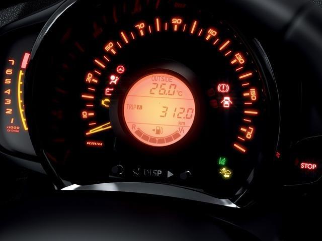 Peugeot 108 - indirecte bandenspanningscontrolesysteem