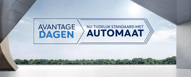 Avantage Dagen - Nu tijdelijk met standaard automaat