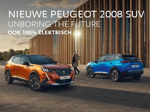 Nieuwe Peugeot 2008 SUV - Ook 100% Elektrisch