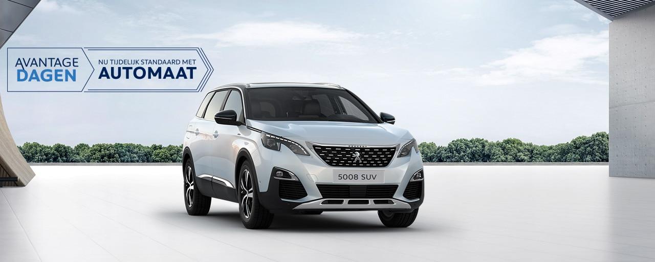 Peugeot 5008 SUV - Avantage Dagen t/m 31 maart