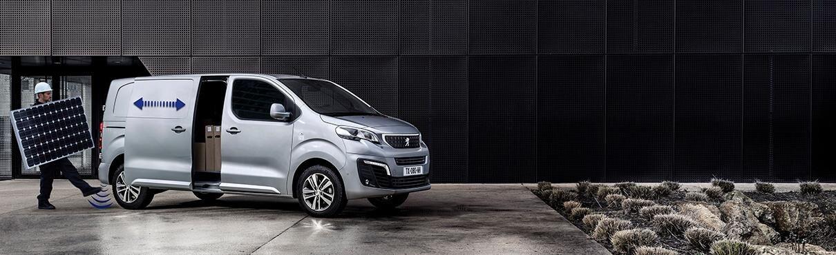 nieuwe Peugeot e-Expert bedrijfsauto