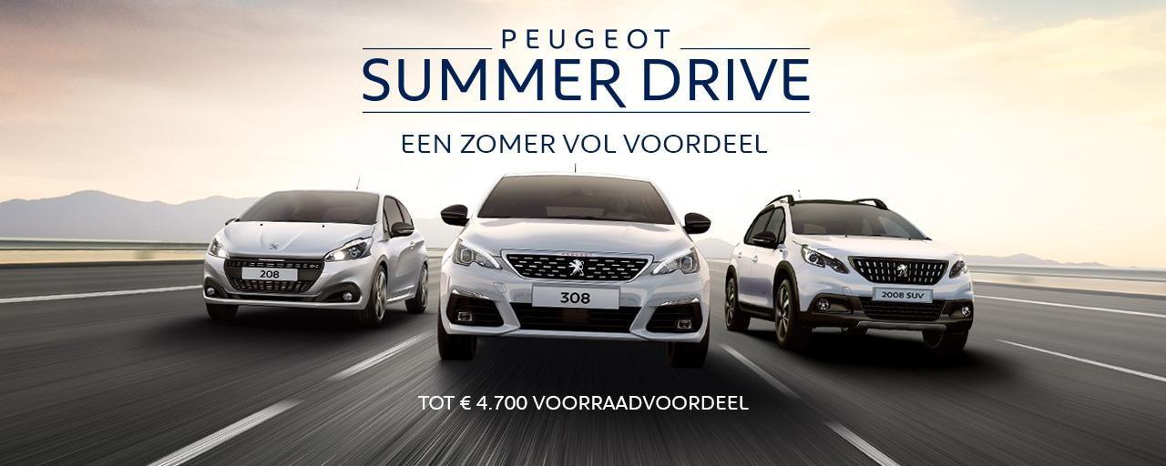 Peugeot Summer Drive - Een zomer vol voordeel