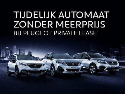Automaat zonder meerprijs | Peugeot 2008 SUV - 3008 SUV - 5008 SUV