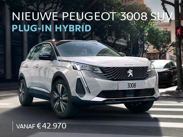 Nieuwe Peugeot 3008 SUV HYbrid