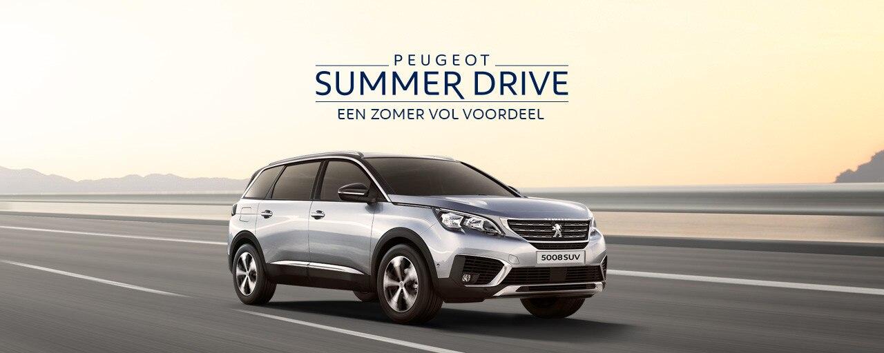 Peugeot Summer Drive - Een zomer vol voordeel - Peugeot 5008 SUV