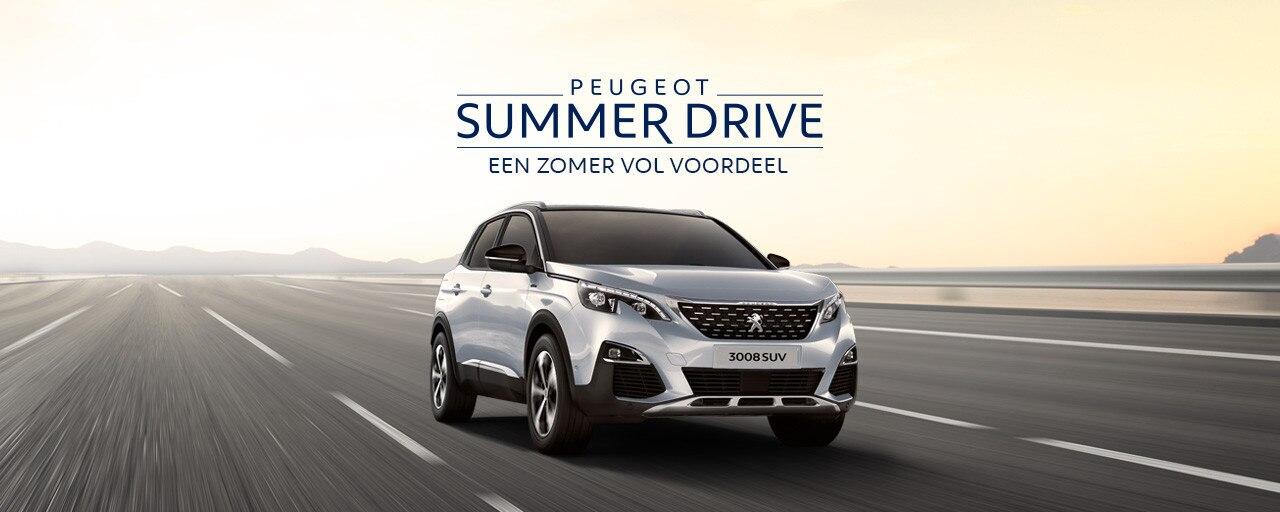 Peugeot Summer Drive - Een zomer vol voordeel - Peugeot 3008 SUV