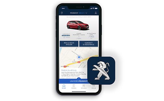 PEUGEOT 308 GTi - MyPeugeot App