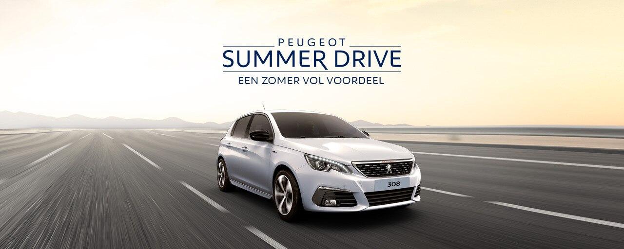 Peugeot Summer Drive - Een zomer vol voordeel - Peugeot 308
