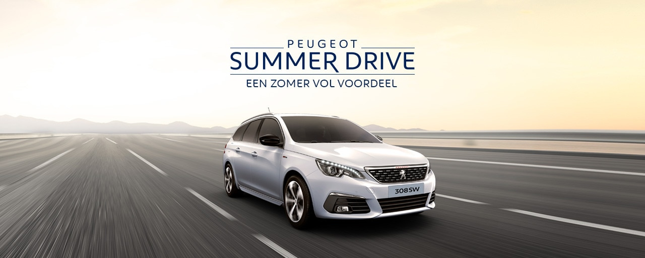 Peugeot Summer Drive - Een zomer vol voordeel - Peugeot 308 SW