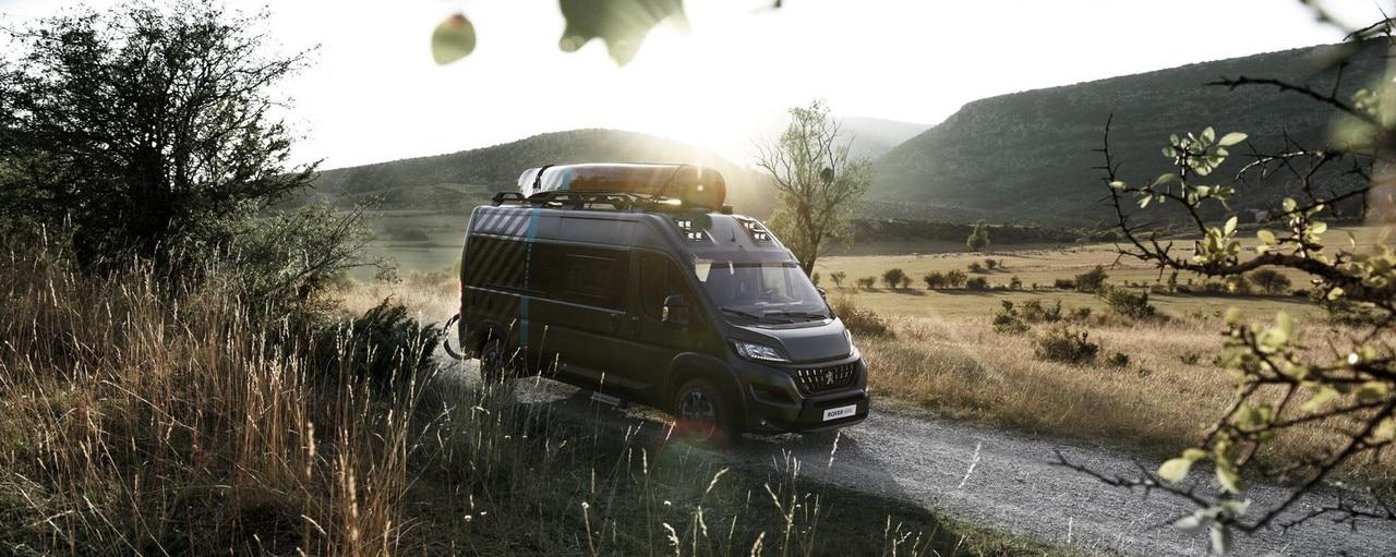 Peugeot Boxer 4x4 Concept - Exterieur expressieve design