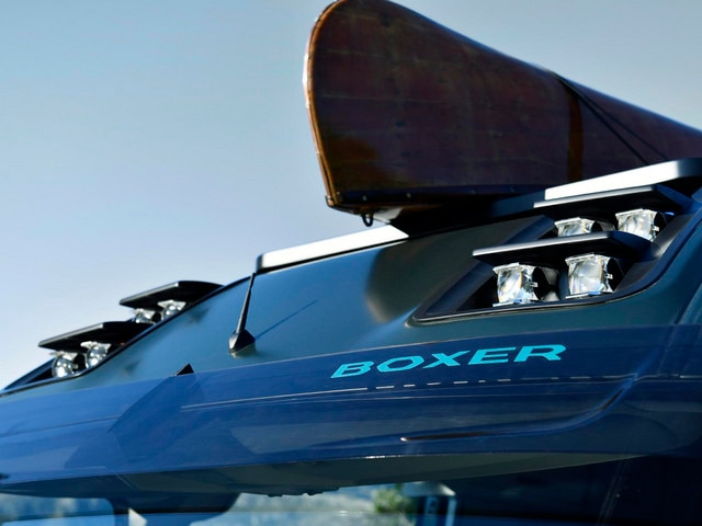 Peugeot Boxer 4x4 Concept - Exterieur voorzijde ledmodules
