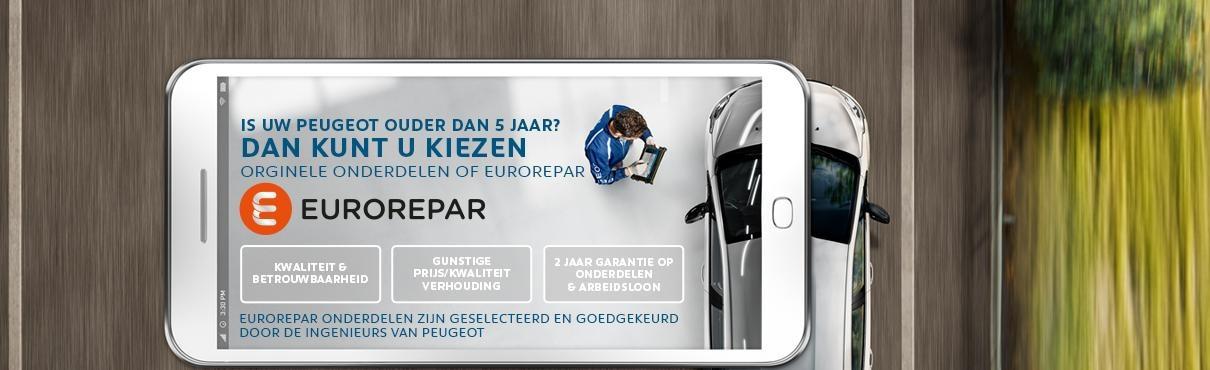 Peugeot - EUROREPAR - onderdelen