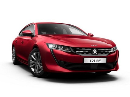 Peugeot 508 SW Blue Lease Allure
