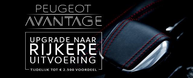 Peugeot Avantage - upgrade naar rijkere uitvoering